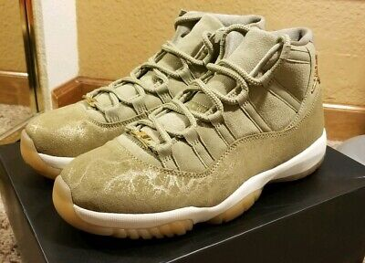 new arrival 4677b 4c95d WMNS NIKE AIR Jordan 11 Retro Neutral Olive Sail Gum Brown ...