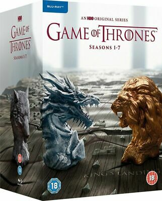 Complete Region Season Free] Game Collection of GoT [Blu-ray Set 1-7 - Thrones