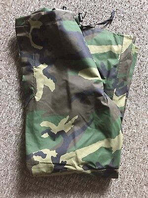 c5d2aec4849ae Extended Cold Weather Trousers Pants Woodland Camo Military Hunting Small  Long