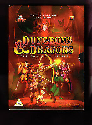 Dungeons & Dragons Complete 1983 to 1985 Animated TV Series PAL UK DVD Box Set