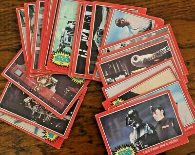Star Wars 1A-66A, Topps Trade Cards, Pick Your Cards, 1978