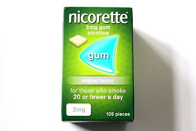 Nicorette Original 2mg Gum Nicotine - 105 Pieces