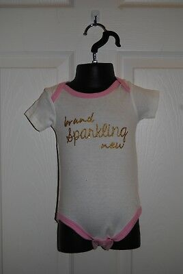 clothing Kids One Piece by Baby Gear, size 18 Months Pink with Gold Letters