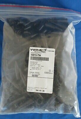 250 VWR 5mL Centrifuge PP Amber Tubes w/ Attached Caps 10015-794