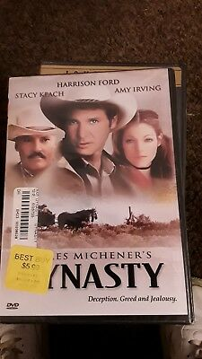 """James Michener's Dynasty (DVD)  HARRISON FORD:  """"BRAND NEW, SEALED"""""""