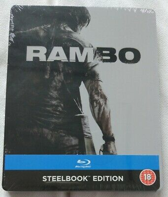 John Rambo | Rambo 4 | Blu-Ray Steelbook Limited Edition | NEU NEW OVP Sealed