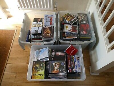 DVDs - 250 plus Films, TV, Series  JOBLOT BUNDLE, PERSONAL USE, CAR BOOT ETC.