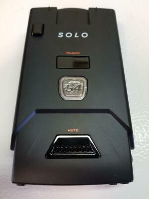 Escort SOLO S4 Cordless Radar and Laser Detector (Used Twice)