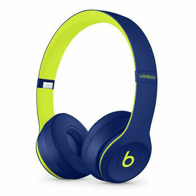Beats By Dr. Dre Solo3 Wireless Headphones Beats Pop Collection - Pop Indigo