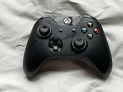 OEM Microsoft XBox One Black Wireless Controller Gamepad 1537 Genuine Official