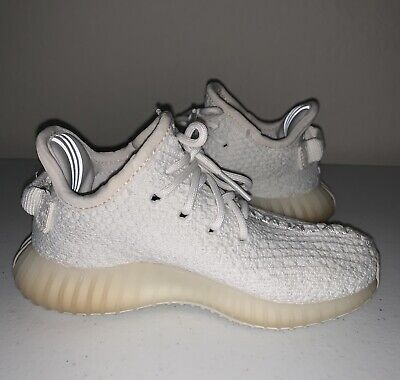 e70ac610153db Adidas Yeezy Boost 350 V2 Cream White Infant Toddler Size 8K