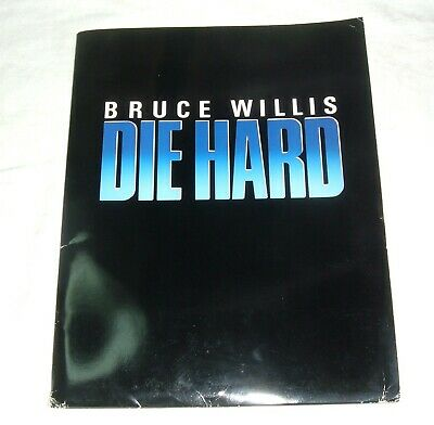 Die Hard 1988 Movie Film Press Kit Bruce Willis with 8 Photos and Media Content