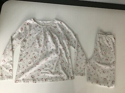The Little White Company Girls Pyjamas Age 9 -10. Brand New With Tags