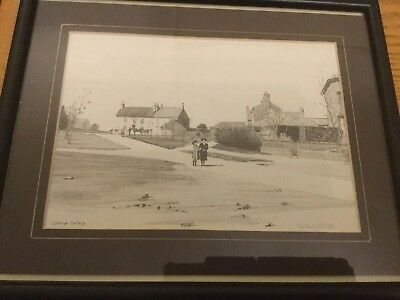 Signed & Framed George Colley Wolviston Picture