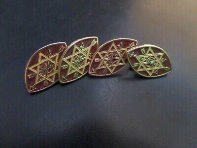 98cc2bd35e2f Masonic OSM Order of Secret Monitor Lapel Pins 150 p x 4 - LAST FOUR !