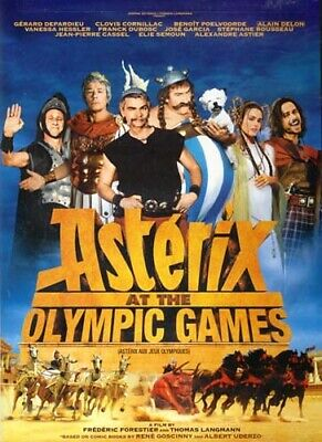 Asterix At The Olympic Games New Dvd