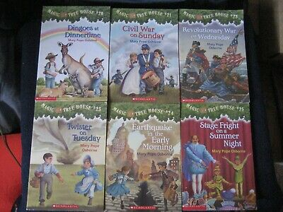 Magic Tree House by Mary Pope Osborne~Lot of 9 ~Chapter BOOKS ~(sequence 20-28)