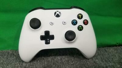 Microsoft Xbox One/ S White - Wireless BlueTooth Controller w/3.5mm  (SS2029893)