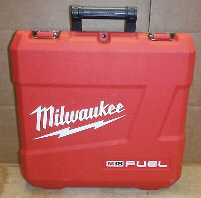 """Empty Case For The - Milwaukee 2704-22 M18 Fuel 1/2"""" Hammer Drill/Driver Kit nd8"""
