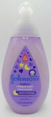 Johnsons Baby Bedtime Moisture Wash 13.6 oz 381371174805YN
