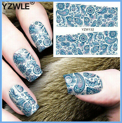 ❤️Nouveau Stickers Bijoux Ongles Water Decals Manucure Nail Art