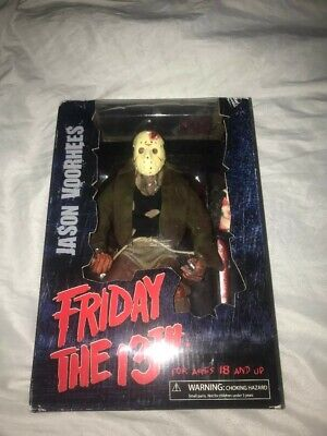 Friday the 13th Jason Voorhees figure Part 3 w/ axe, severed head & more! Mezco