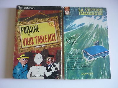 Lot de 2 Gil JOURDAN - M.Tillieux - Collection Gdp -