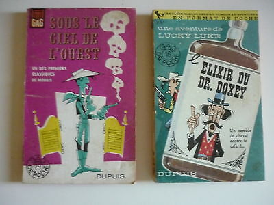Lot de 2 Lucky LUKE - Morris - Collection Gdp -