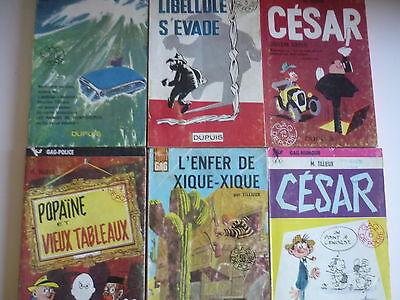 Lot de 4 Gil JOURDAN + 2 CESAR - M.Tillieux - Collection Gdp -