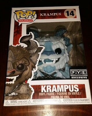 Funko Pop Krampus Ice Snow White FYE exclusive