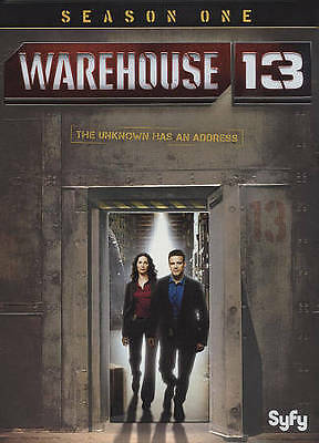 Warehouse 13: Season One, Two and Three  DVD Sets