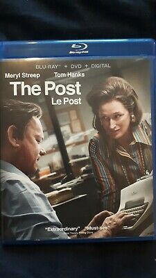 The Post (Blu-ray/DVD, NO DIGITAL, Contains French & Spanish)