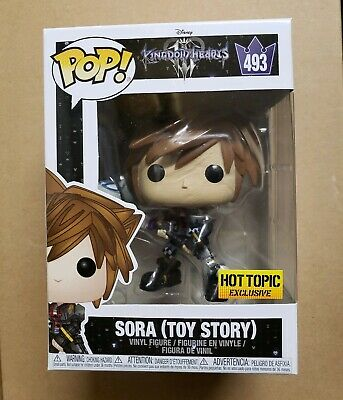 Funko Pop Sora Toy Story Kingdom hearts hot topic exclusive