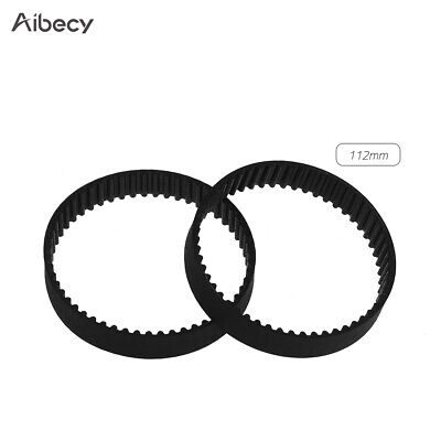Aibecy GT2 Closed-Loop Timing Belt Rubber Synchronous Belts W=6mm X8R7