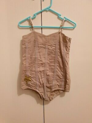 Bella and lace body suit size 5-6