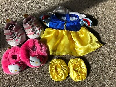 Build A Bear Snow White Outfit And Shoes