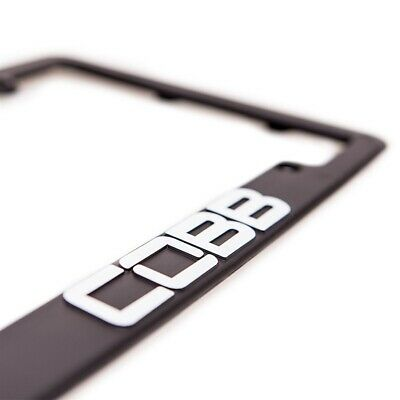 NEW COBB TUNING BLACK LICENSE PLATE FRAME - JDM Accessport