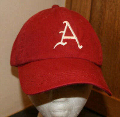 huge discount 92914 8a918 Red New Era Arkansas Razorbacks NCAA Football Pro Fitted Hat Size 7 1 4  MINTY.