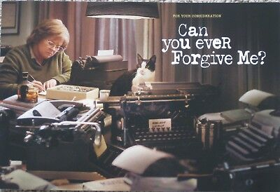 Can You Ever Forgive Me? 2018 Promo Fyc Color Booklet For Your Consideration