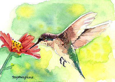 ACEO Limited Edition Art print of an ACEO watercolor His dignity