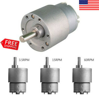 planetary gear dc brush motor 12V 42mm diameter 1:67 ratio 30rpm 50w gearmotor