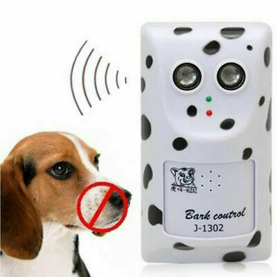Ultrasonic Stop Control Dog Barking Anti No Bark Device Silencer Hanger US Plug