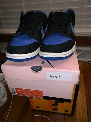 premium selection 16570 49621 NIKE DUNK HIGH Pro Sb Royal Blue 1 Black Sz 12 - $77.00 ...