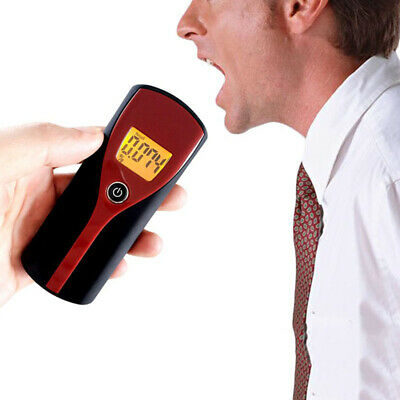 Analyzer Breathalyzer Alcohol Tester LCD Drunken Driving Digital Detecting/Tools