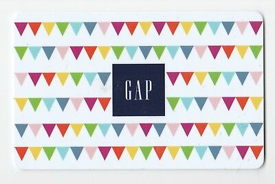 Gap collectible gift card no value mint #07 Triangle Flags
