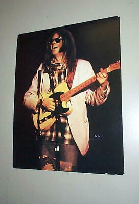 NEIL YOUNG Vintage 1974 Photocard 8X10
