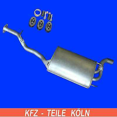 Box With Tail Pipe Rear Back Silencer Fits Honda Accord Tourer GHA326