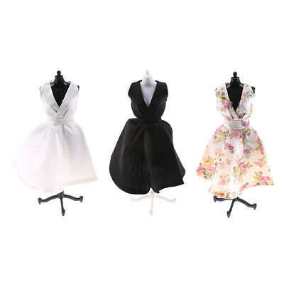 Elegant  Doll Dresses Classical Evening Dress Clothes 1/6 BJD Doll Gift HU
