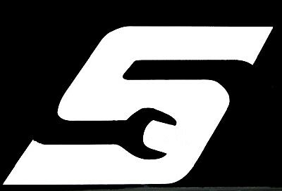 """Snap On """"S"""" Tools Vinyl Decal Sticker Free Shipping 75106"""
