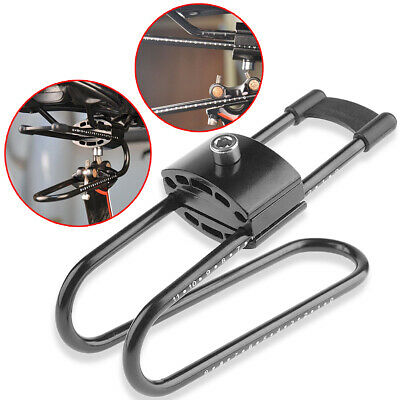 Adjustable Bicycle Saddle Suspension Device Spring Steel Absorber  Cycling New